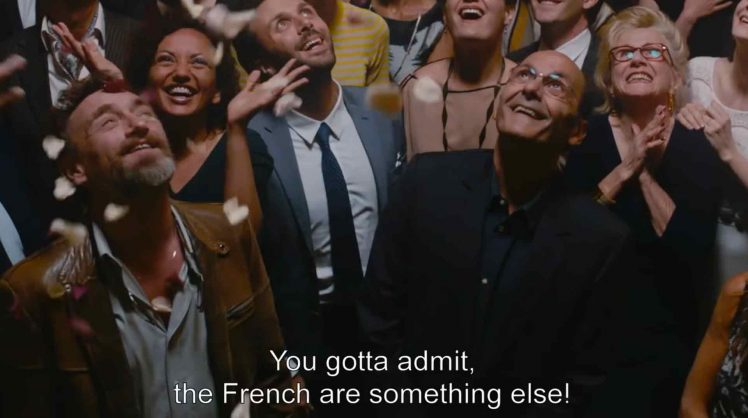 The only place you'll find screenings of French movies with English subtitles.