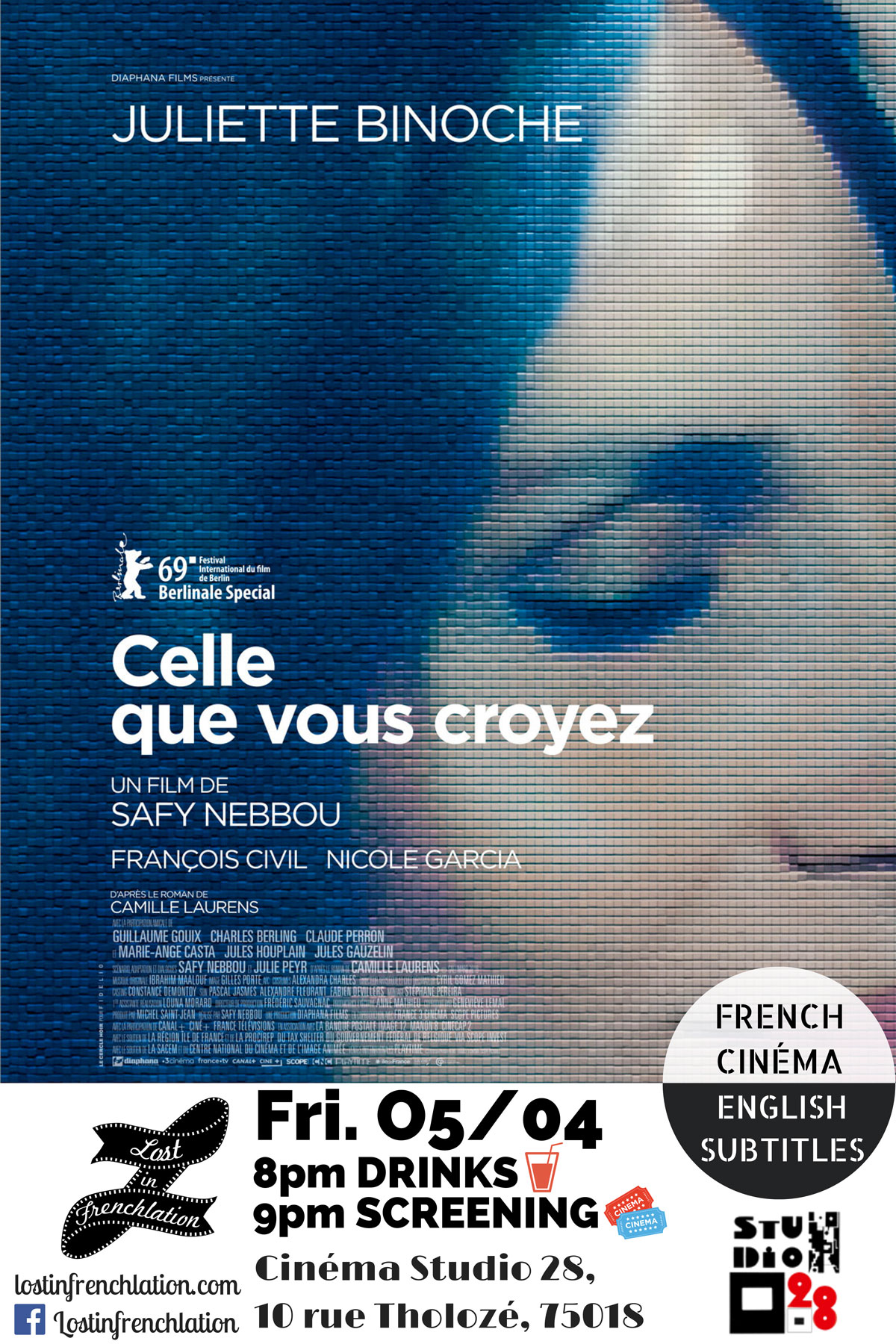 Celle Que Vous Croyez - Lost in Frenchlation - French Films